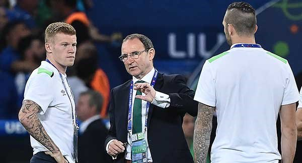 James McClean and Martin O'Neill escape world cup bans