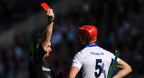 Waterford are expected to appeal against Tadhg de Burcas red card last Sunday
