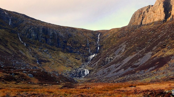 Light and music at Mahon Falls tonight for 'Comeraghs Wild'