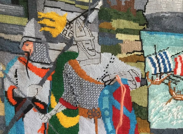 Tapestry depicts history of Waterford