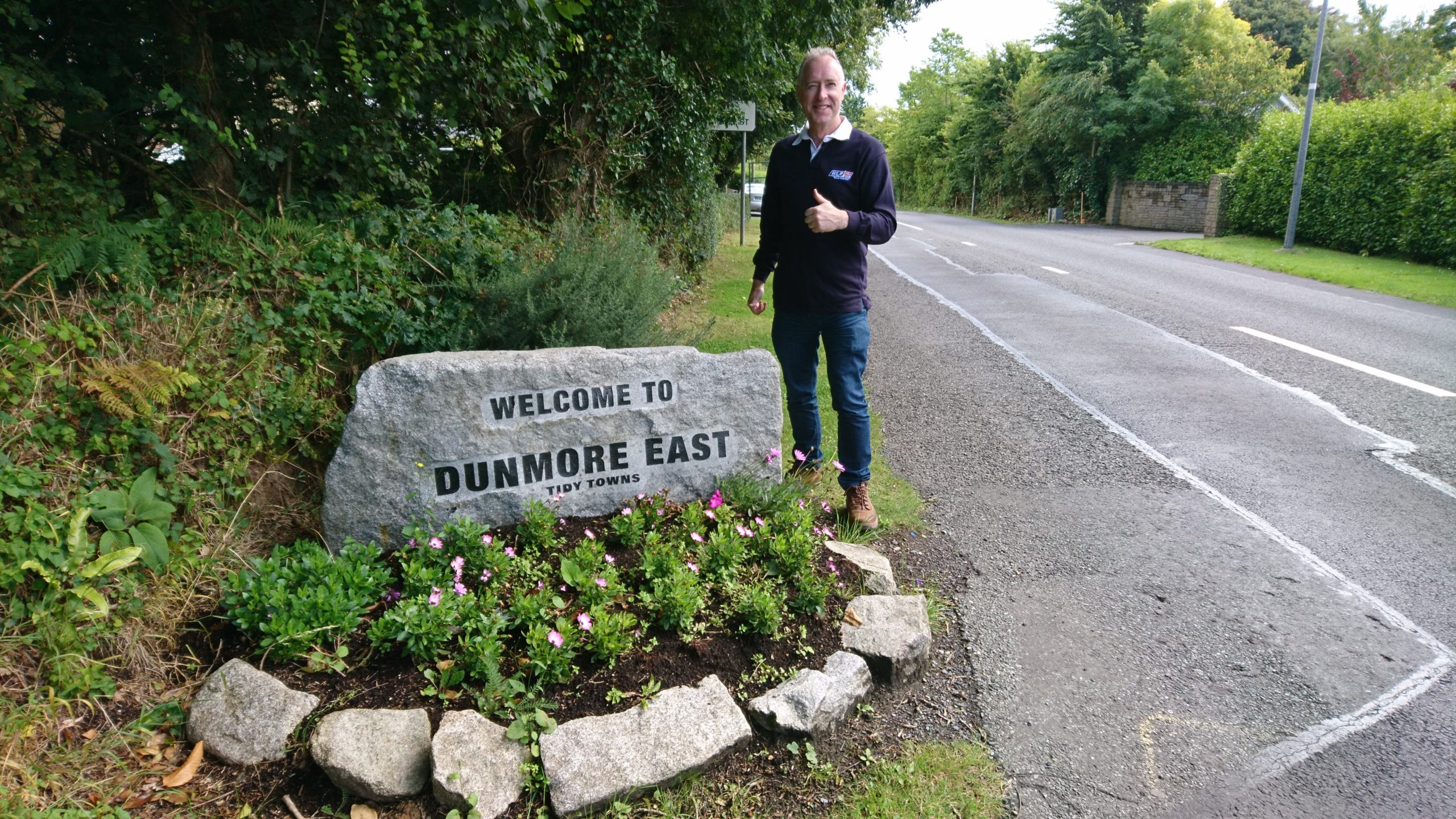 "Ollie and Mary go ""On the Road"" again to Dunmore East, and along The Copper Coast"