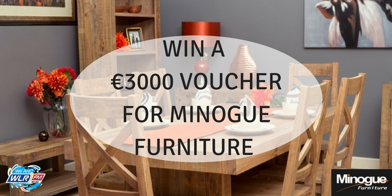 Win a €3000 voucher for Minogue Furniture on The Lunchbox