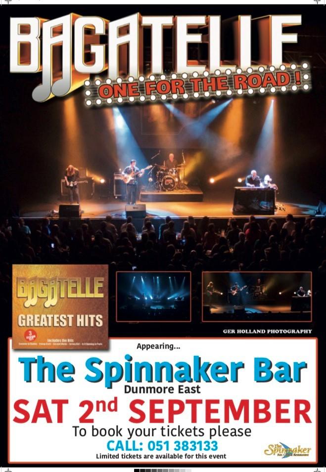 Bagatelle in the Spinnaker Bar