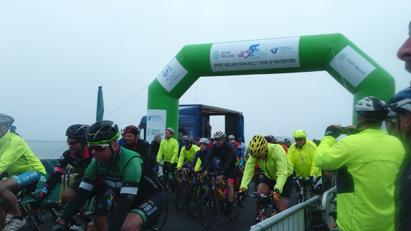 Sean Kelly Cycle underway in County Waterford