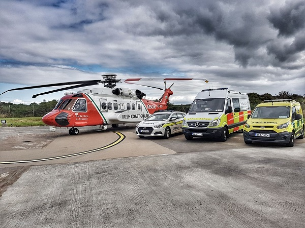 Tribute cycle for Rescue 116 to take in all four rescue bases