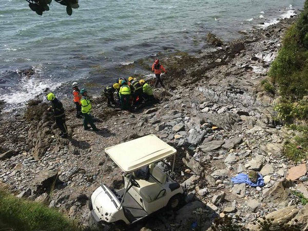 Emergency response after Dungarvan golf buggy goes off course