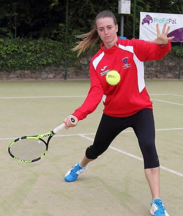 Tramore tennis player aims high