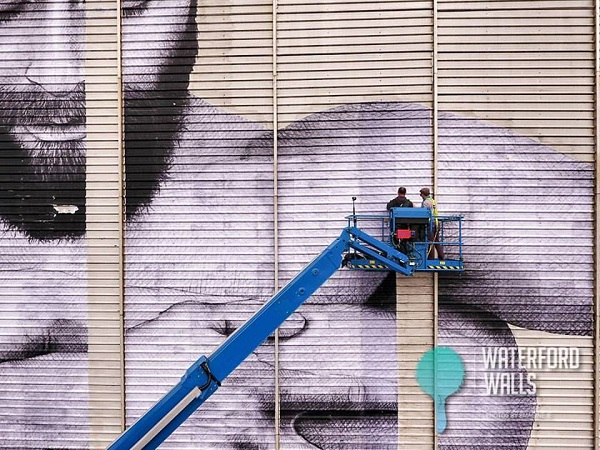 Visual artists transform 40 Waterford Walls