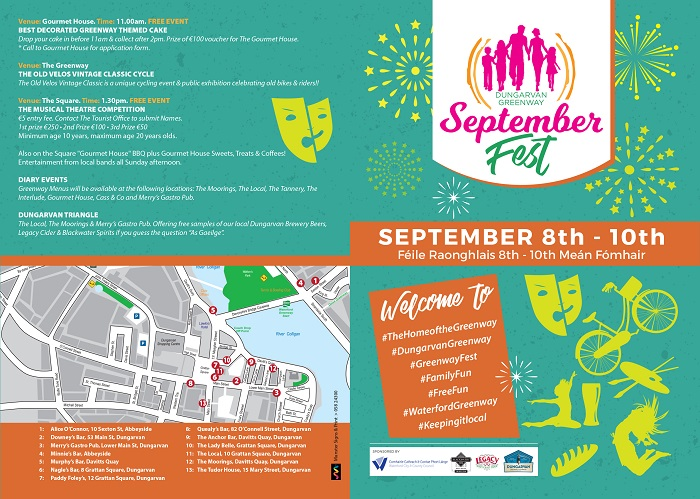 Harvest and Greenway festivals continue in Waterford today
