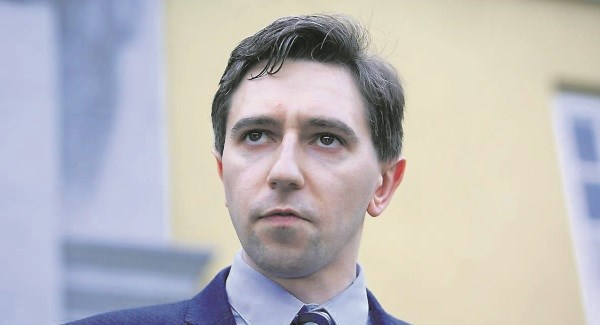 Simon Harris says comments from Bishop Phonsie Cullinan were unhelpful and pathetic.