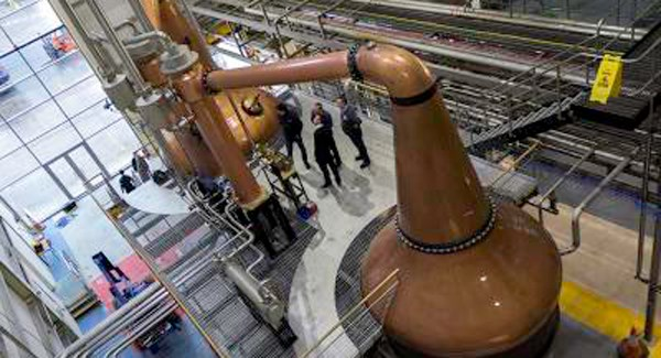 Waterford Distillery says they hope to open a visitor centre in the future.