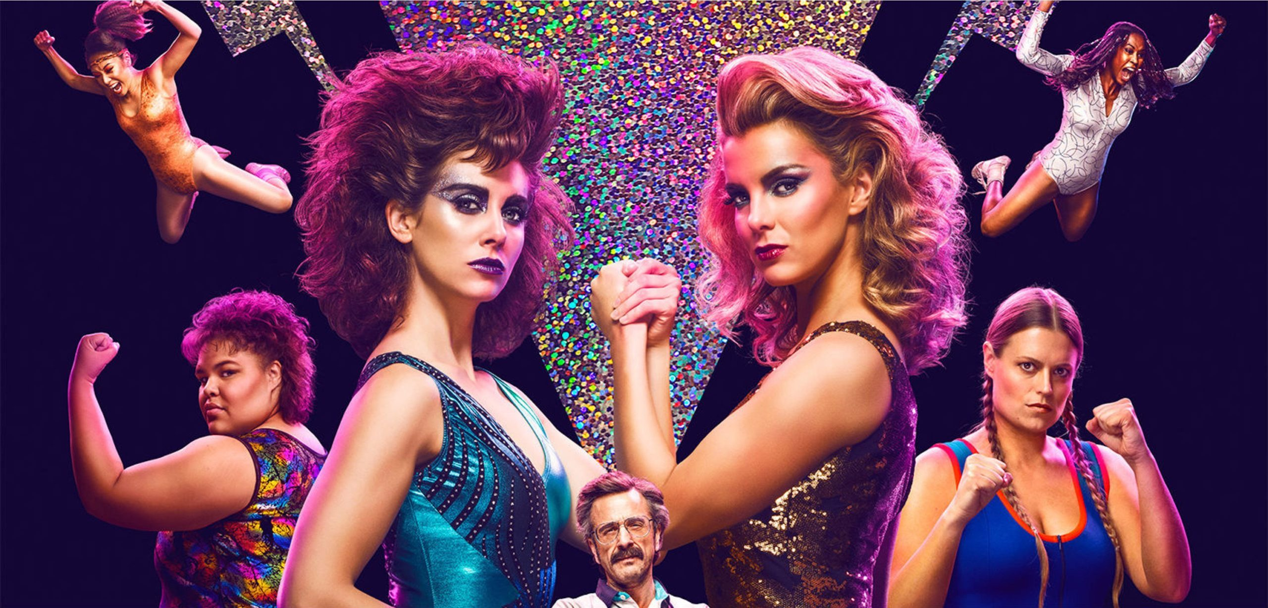 "Jenny O'Connor loves ""Glow"" which is available to watch on Netflix"