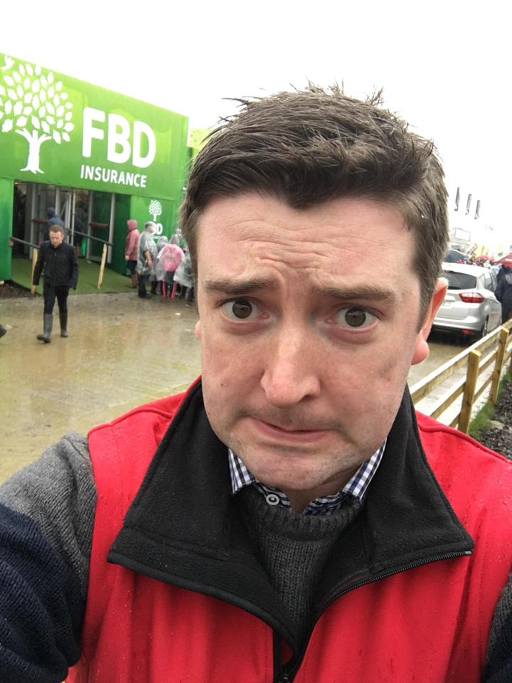 Tinder for bulls, farmers' yoga and racing pigs - Sean Defoe reports from The Ploughing