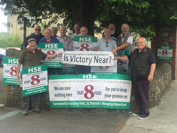 Decade of protests to end with construction of new Waterford hospital