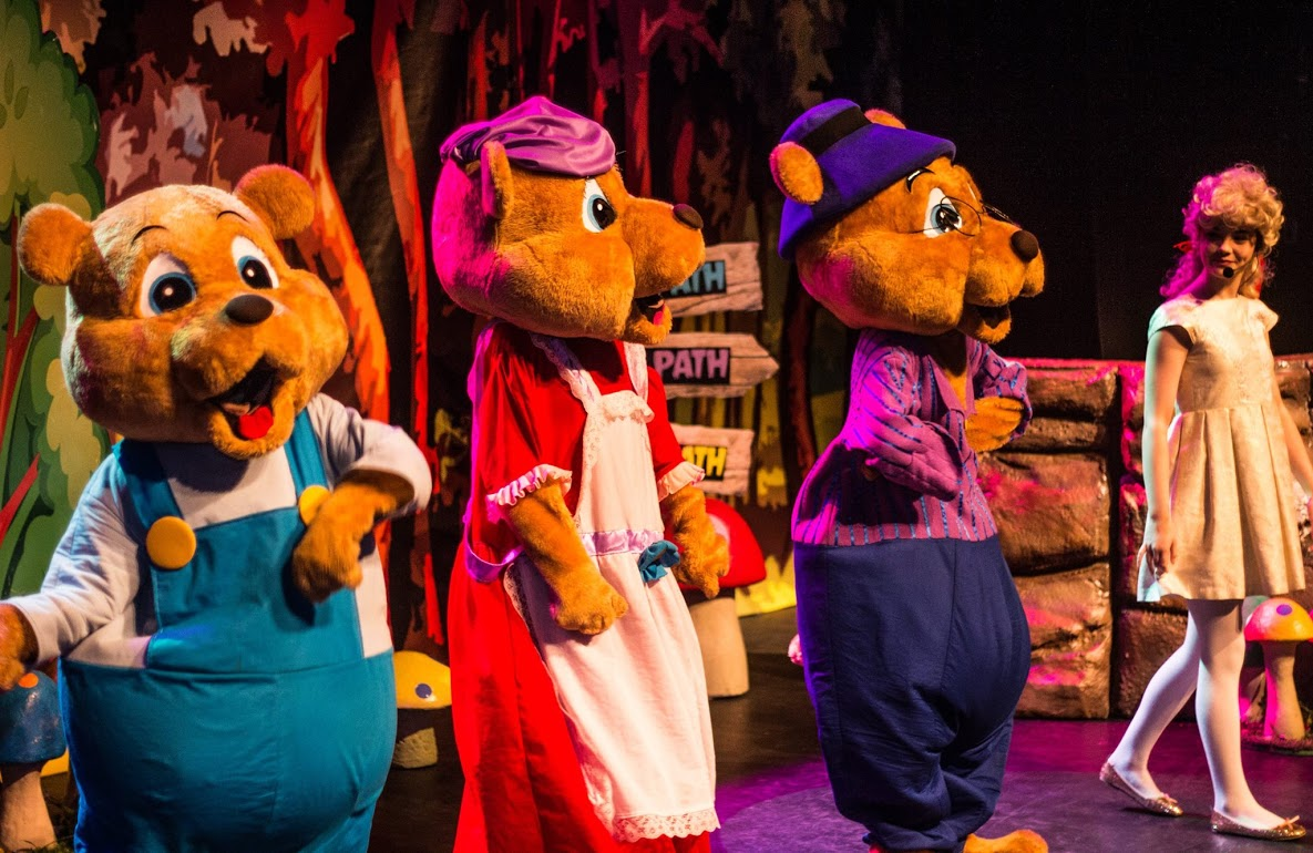 Goldilocks and the Three Bears - Sunday October 15th at Theatre Royal