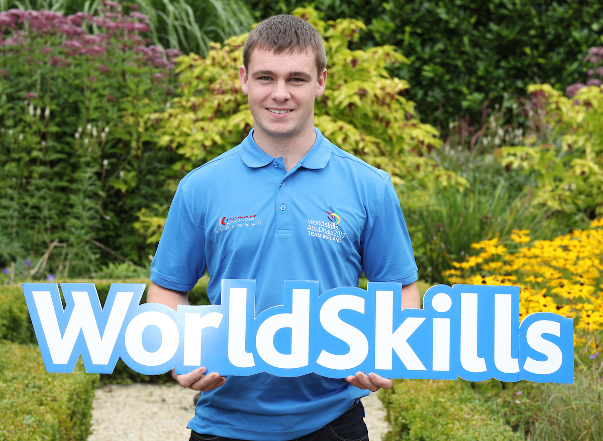Sean Hogan to represent Ireland in World Skills Competition.