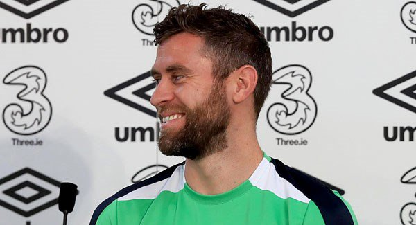 Daryl Murphy expected to lead the line ahead of Welsh clash tonight