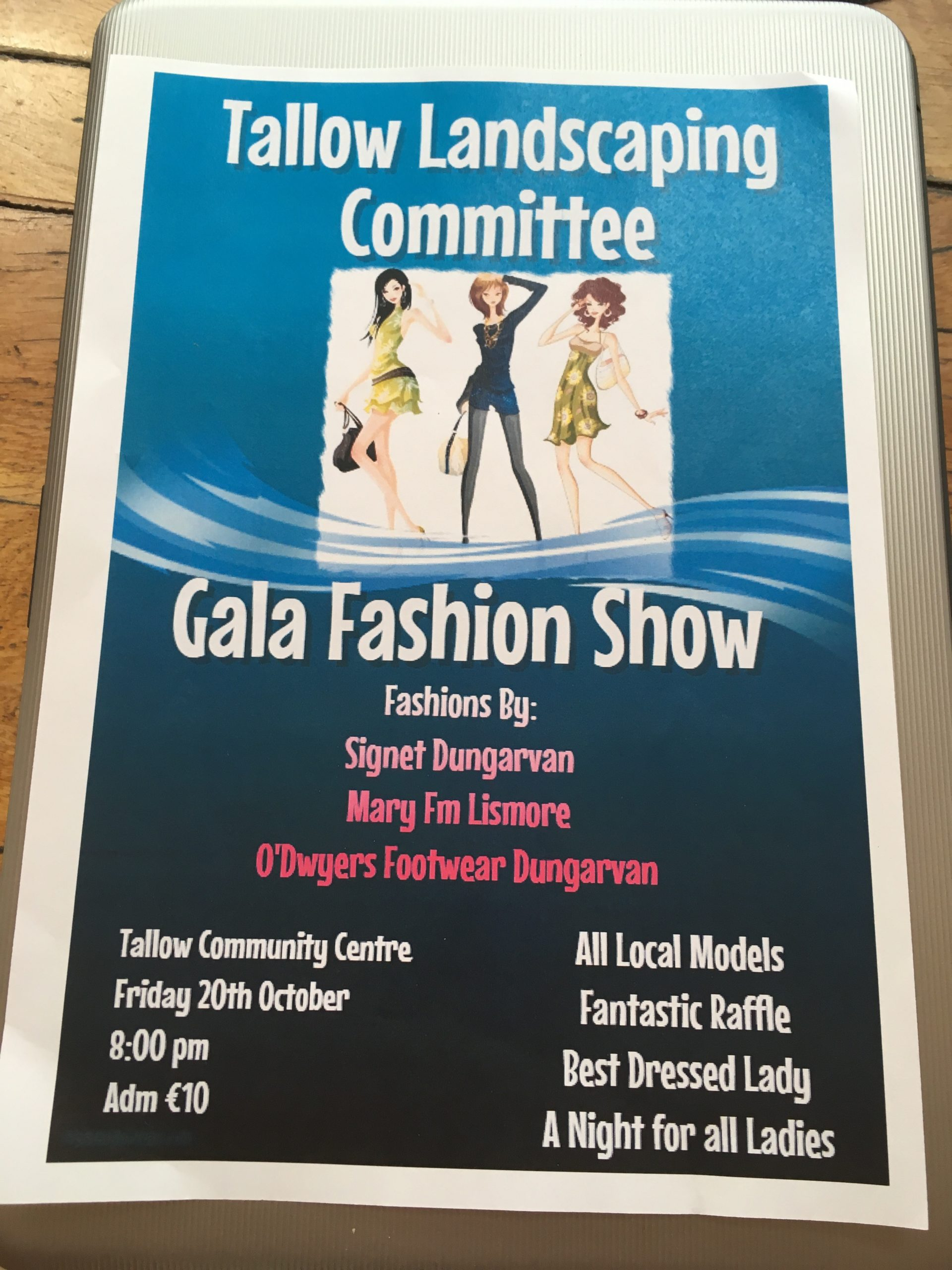 Fashion Show on Friday October 20th