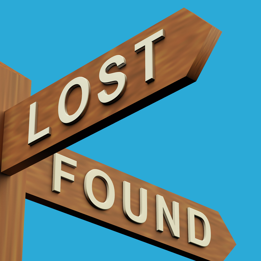 Lost: an envelope with a pay slip and cash