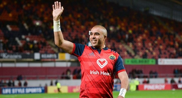 Doubt over Simon Zebo's presumed move to Racing 92