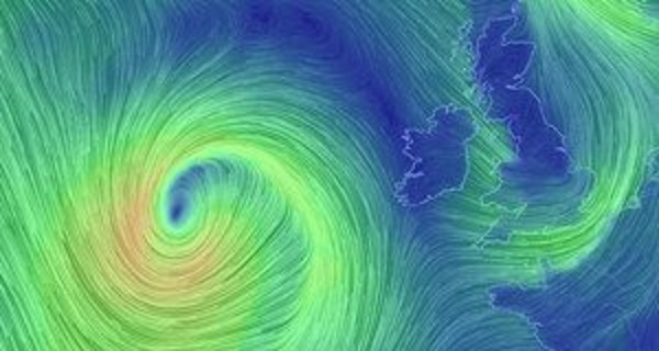 Orange weather warning ahead of Storm Brian