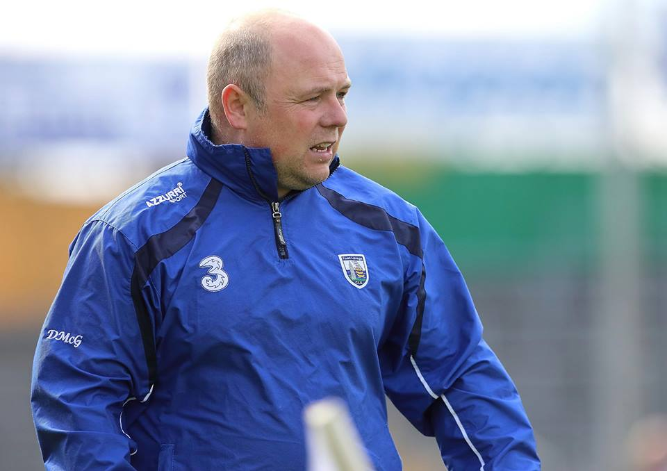 Derek McGrath ratified as Waterford Senior Hurling Manager for 2018