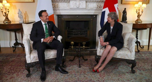Brexit top of the agenda as the Taoiseach and the British PM meet in Sweden