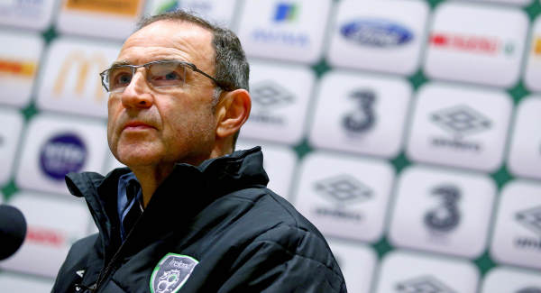 Republic of Ireland gearing up for Denmark tie