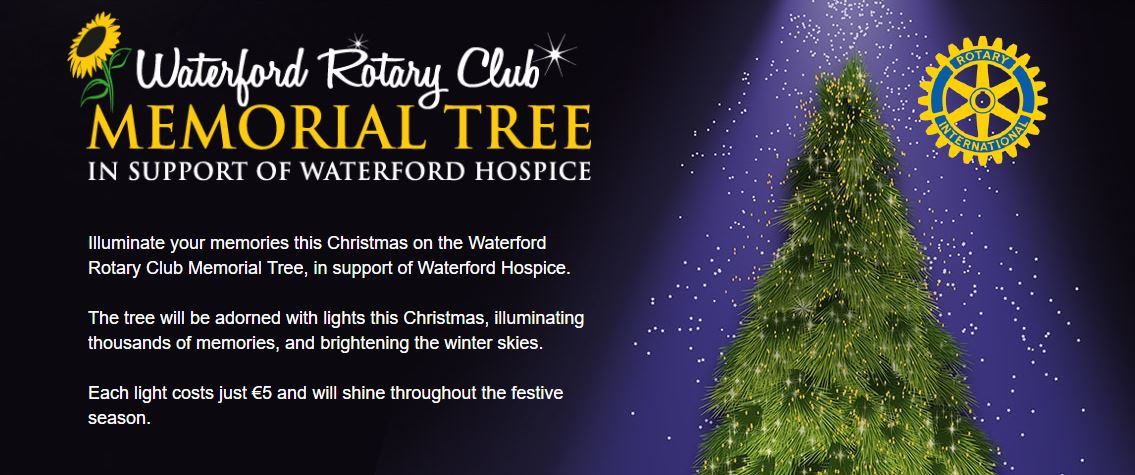 Illuminate your memories this Christmas at the Rotary Club memorial tree