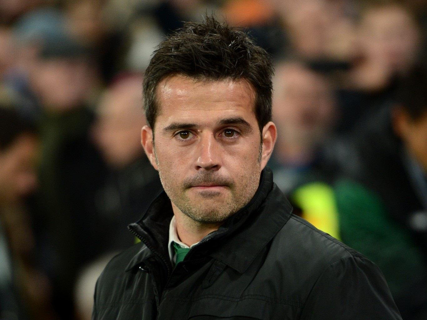 Silva refusing to end the speculation linking him with Everton job