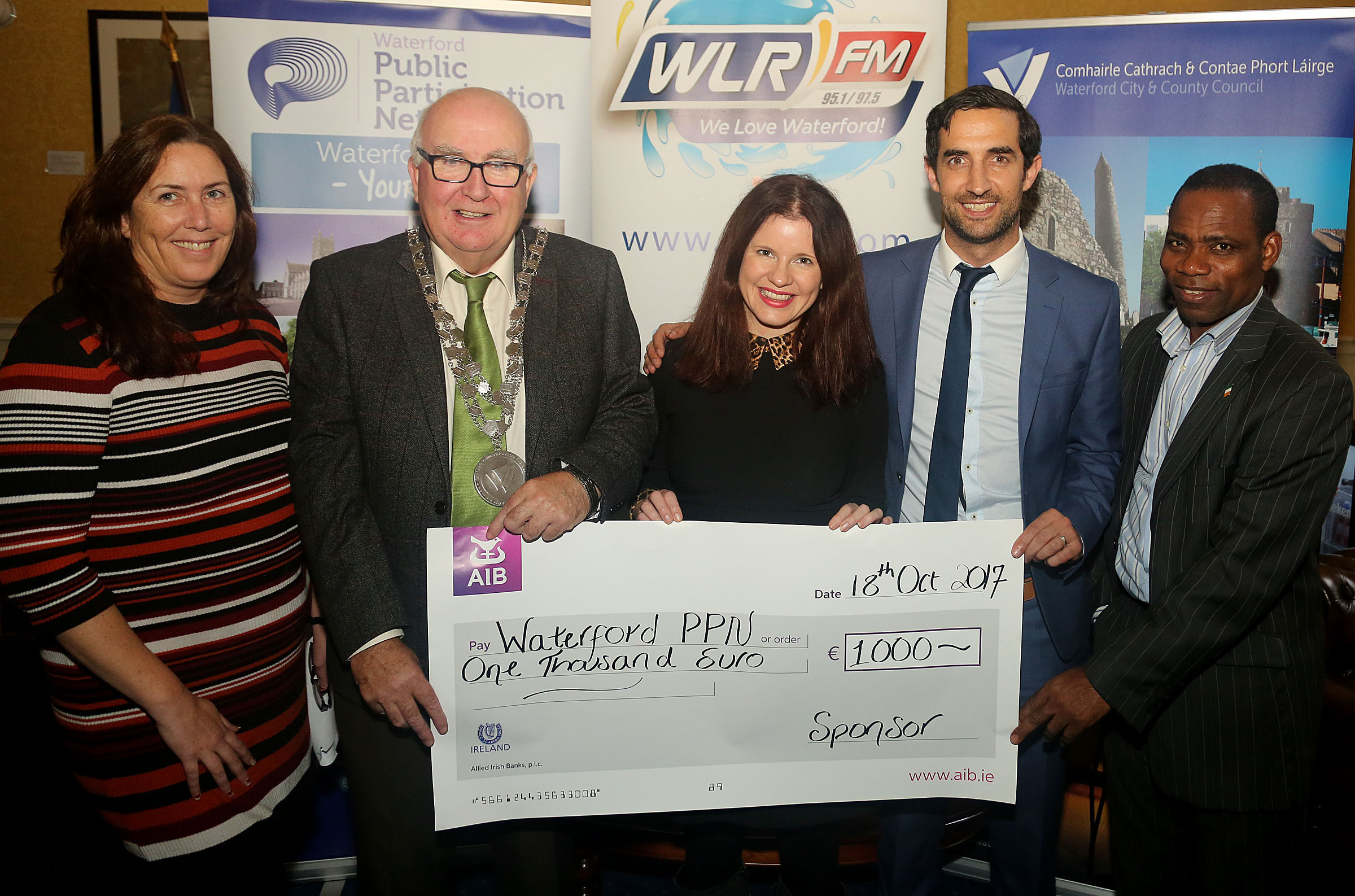 Shortlist announced for the Waterford Community and Voluntary Awards