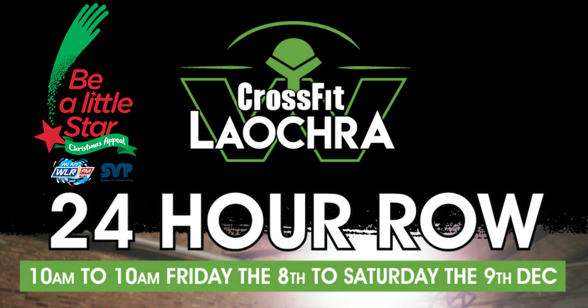 Waterford Warriors 24 Hour Row - Friday December 8th