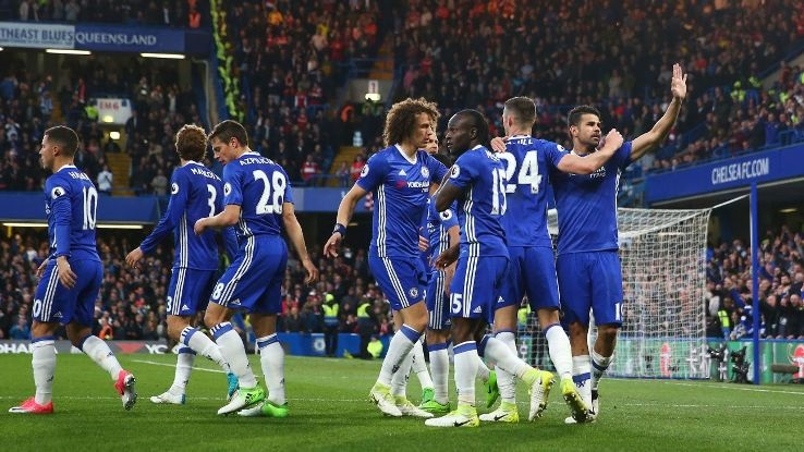 Chelsea through to the last-16 of the Champions League