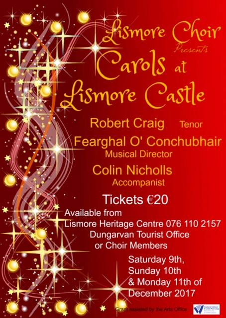 The Lismore Choir Annual Concert of Christmas Music - 9th, 10th & 11th December