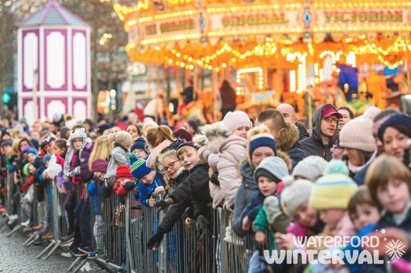 Winterval festival begins today with a special visitor coming to town...