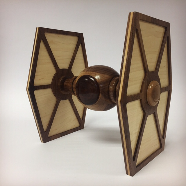 Waterford based craft company, Copper Coast Woodcrafts, showcases Star Wars flair this Christmas