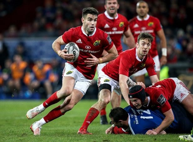 Munster and Leinster clash in inter-pro derby this afternoon