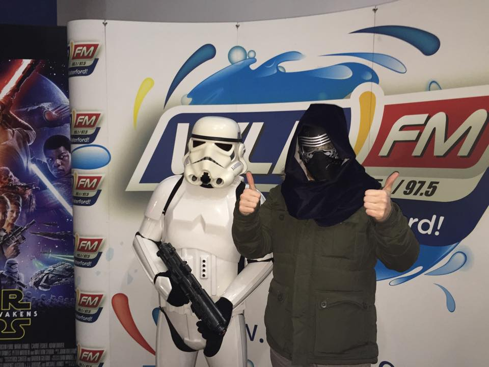 Be the first in Waterford to see the new Star Wars Movie.