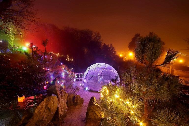 Lafcadio Hearn Gardens transformed into an 'Enchanted Garden'