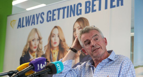 Ryanair U-turn on recognition of pilot unions