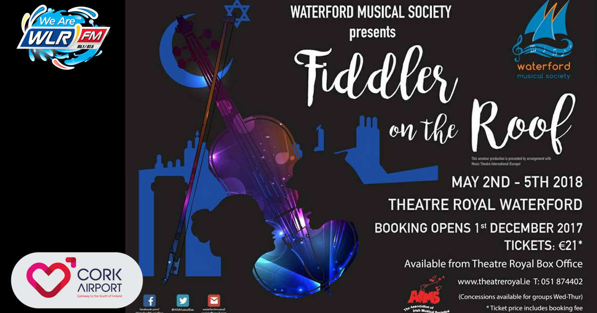 Waterford Musical Society are back soon at the Theatre Royal!
