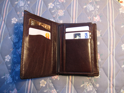 Lost: Light brown wallet