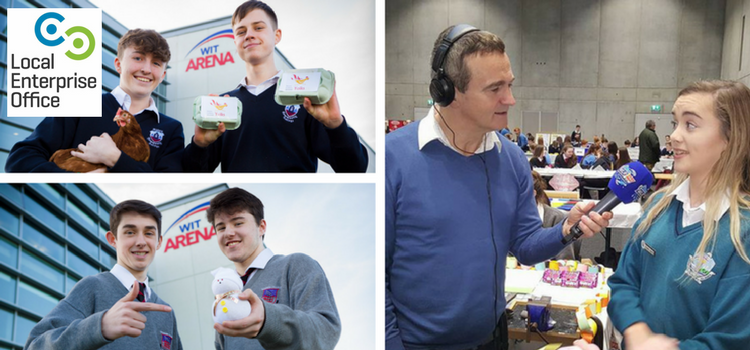 Déise Today live from the Waterford Student Expo