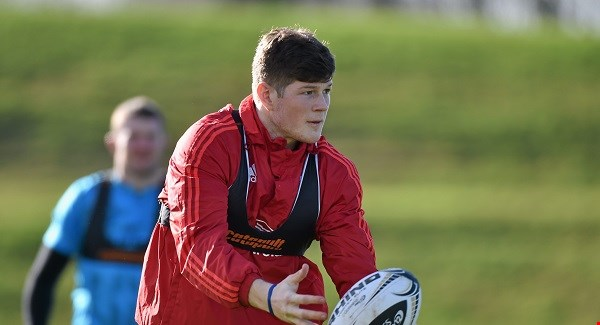 Waterford's Jack O'Donoghue starts for Munster against Connacht.