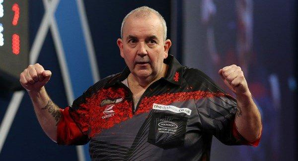 Phil Taylor believes he has left darts in safe hands