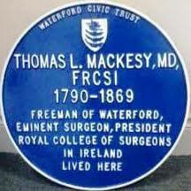 Listen: Geoff talks to Dr. Eugene Broderick about a new Blue Plaque in the city
