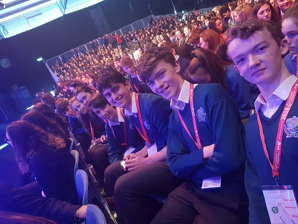 Tramore students well represented at the BT Young Scientist Expo