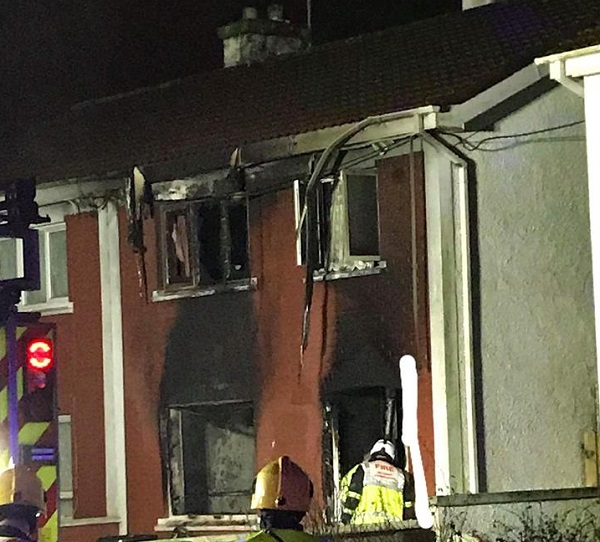 Suspicious fire in Ballybeg overnight
