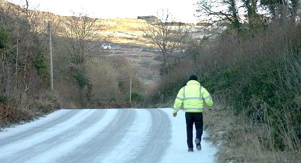 Caution urged on roads in County Waterford this morning.