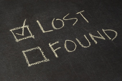 Lost: a pair of prescription glasses